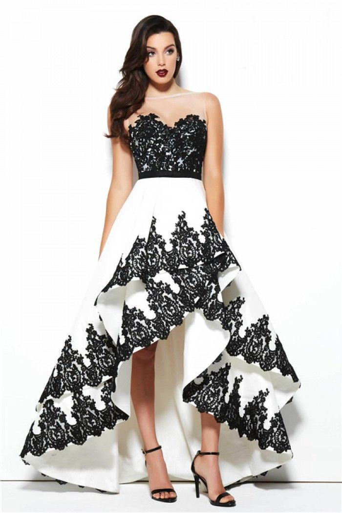 ed248781468 White And Black Dresses - Dress Foto and Picture