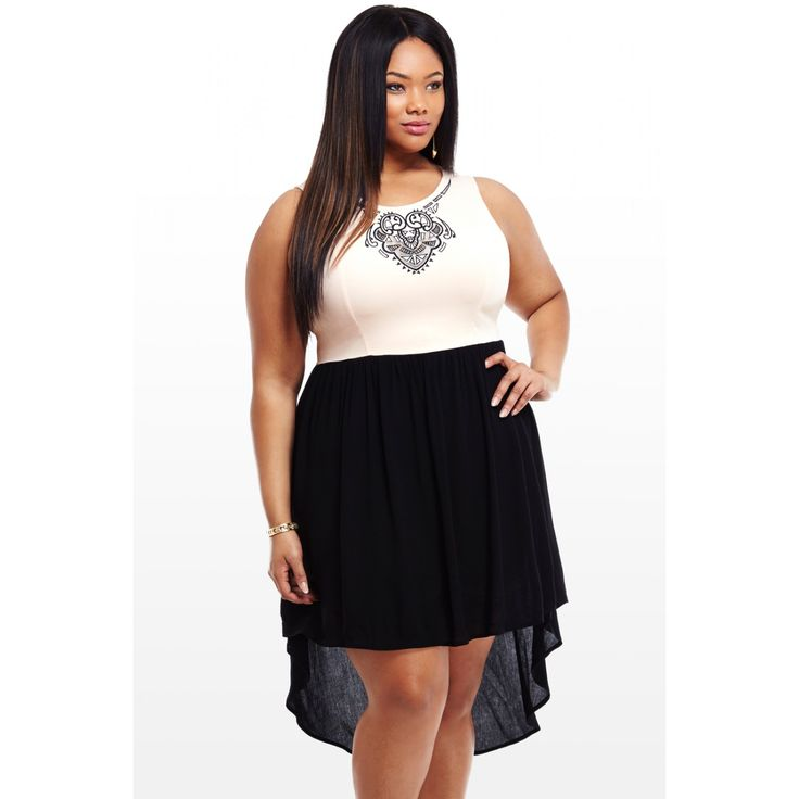 Cheap Plus Size Club Dresses - Nini Dress