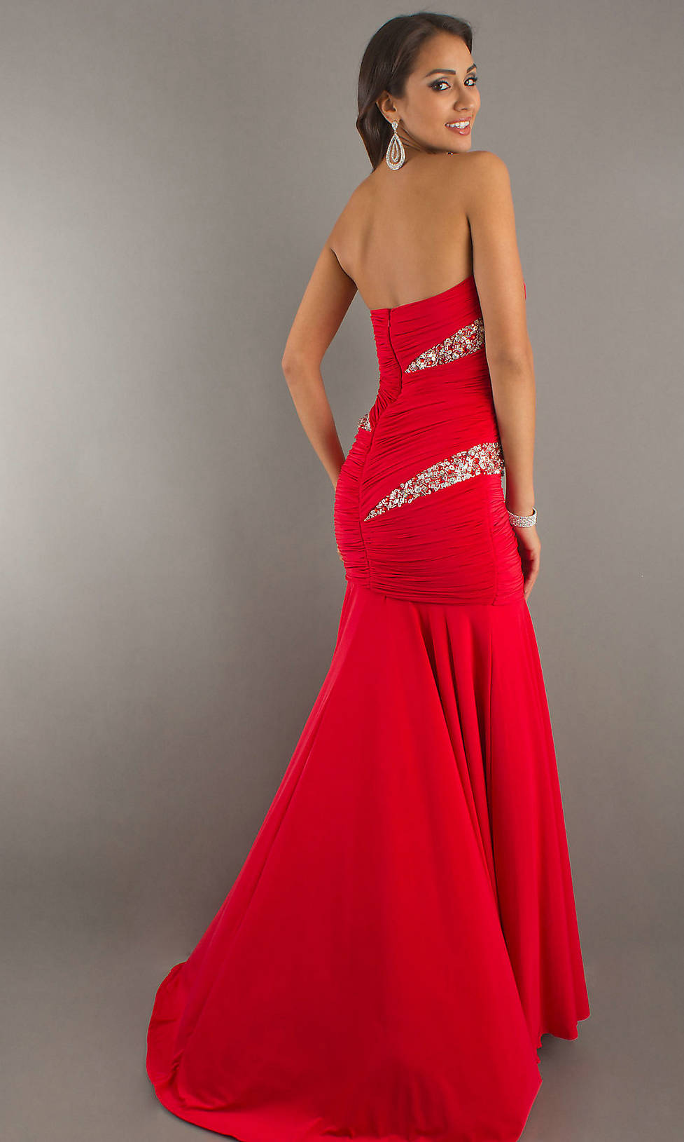 Cheap Red Formal Dresses