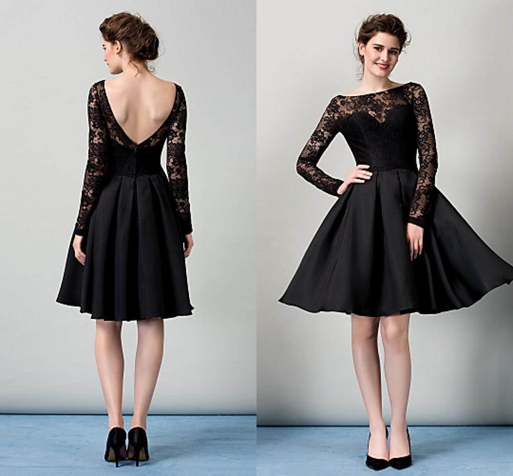 cocktail dresses with sleeves