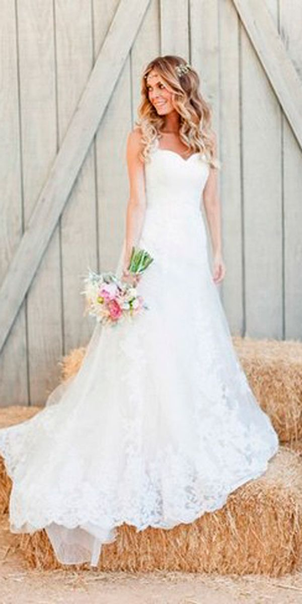 Country Style Wedding Dresses - Nini Dress