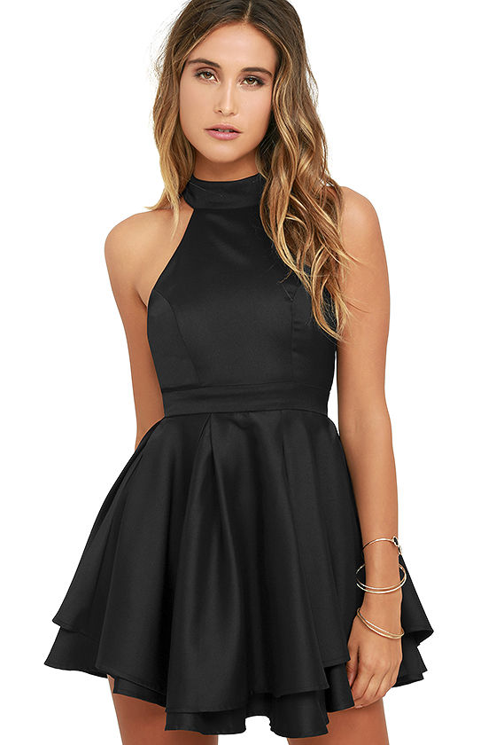 4318d2523465 Cute Little Black Dresses - Nini Dress