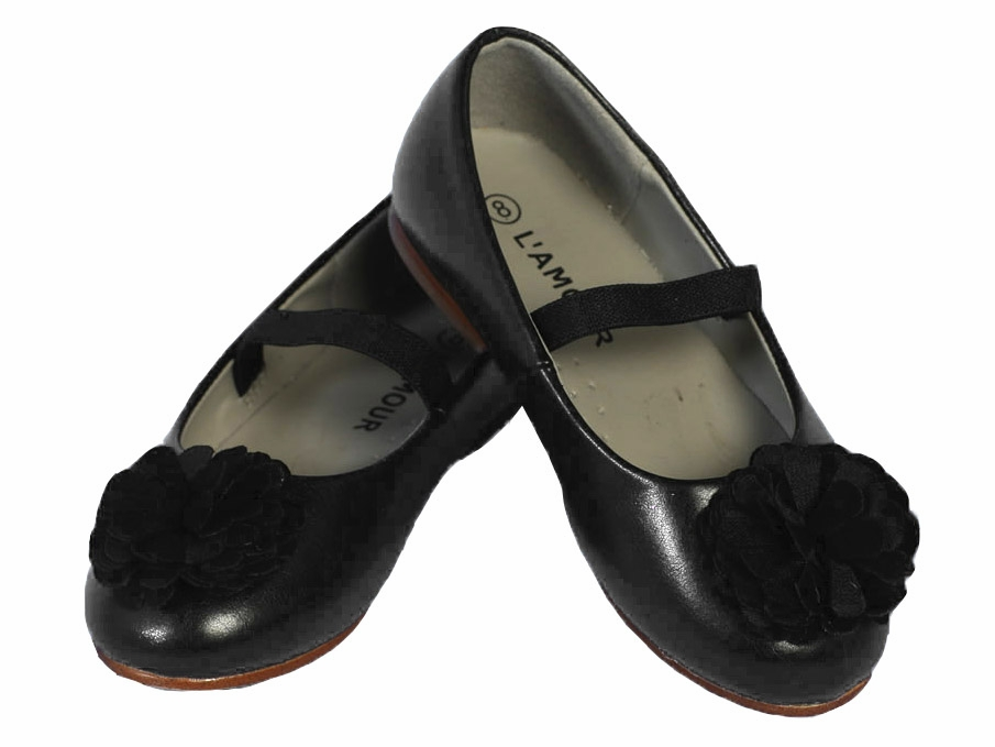 Girls Black Dress Shoes Li2ireyA