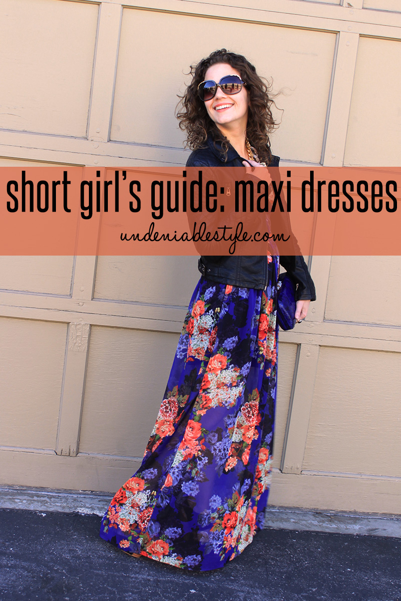 Long Dresses for Short People