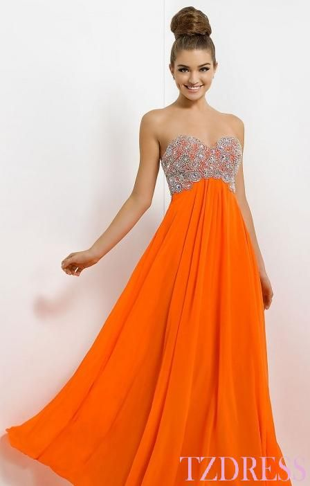 Orange Prom Dresses - Nini Dress