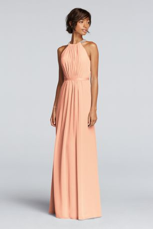 Peach Bridesmaid Dresses bnJYcut0