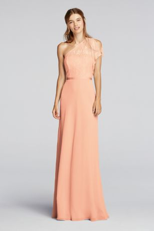 Peach Bridesmaid Dresses EffBlfzw