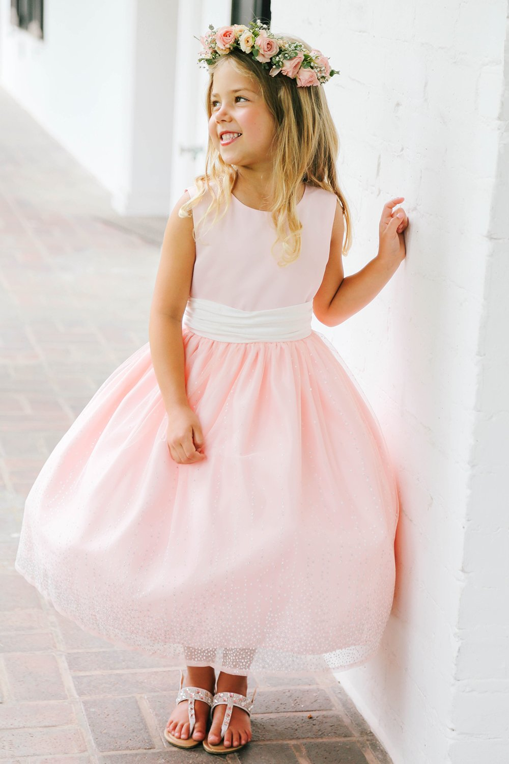Pink Flower Girl Dresses Nini Dress