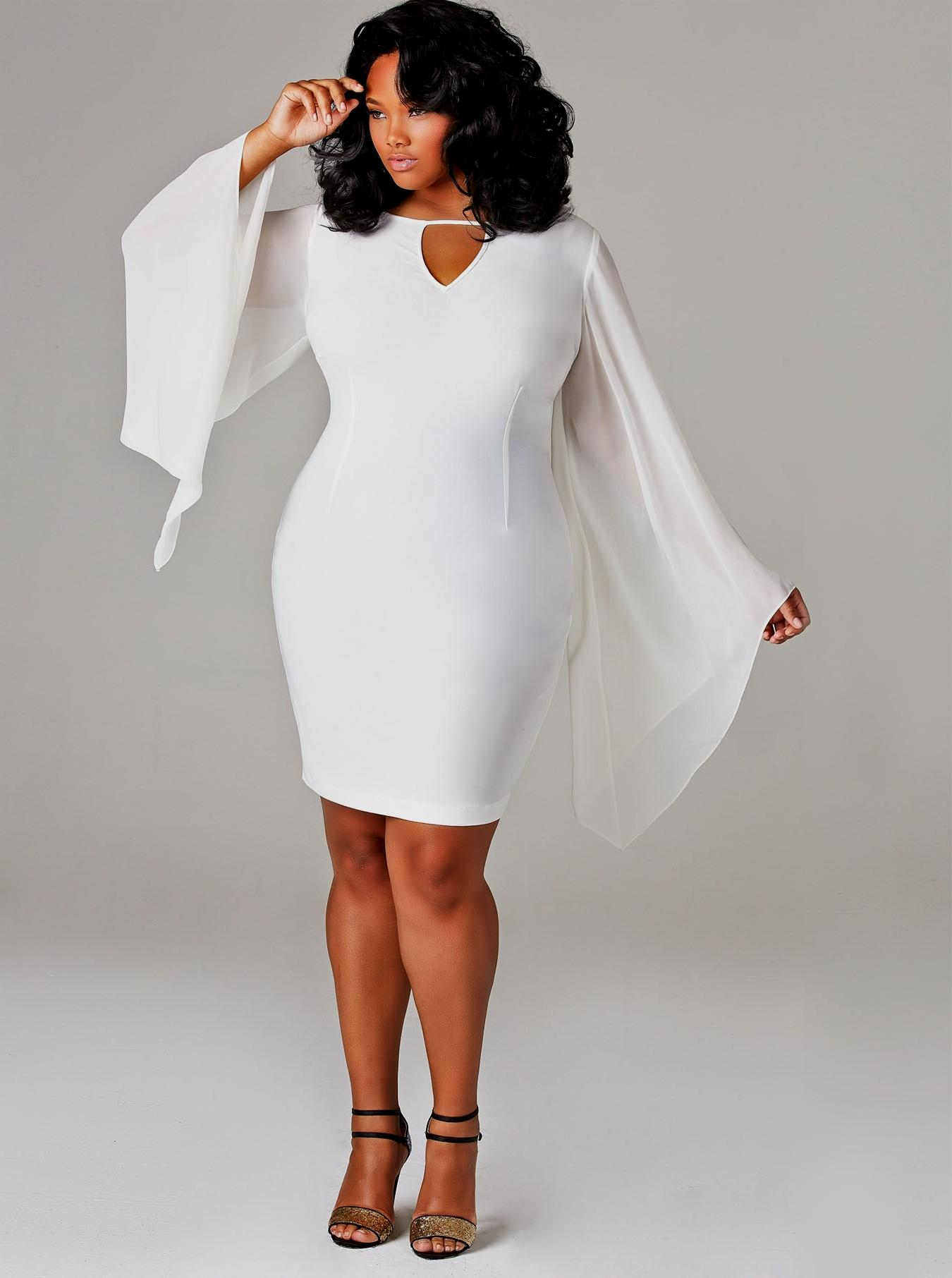 Our Choice of Top All White Plus Size Dresses For All White Party ...