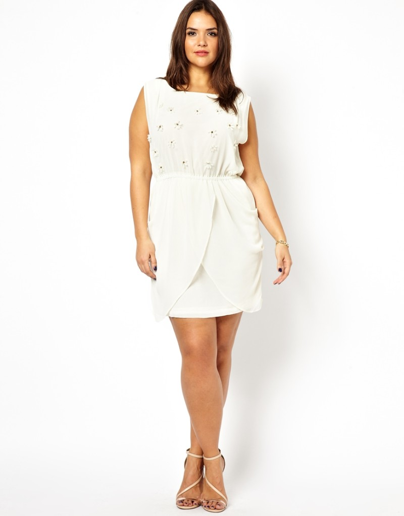 Plus Size White Party Dresses – Fashion dresses