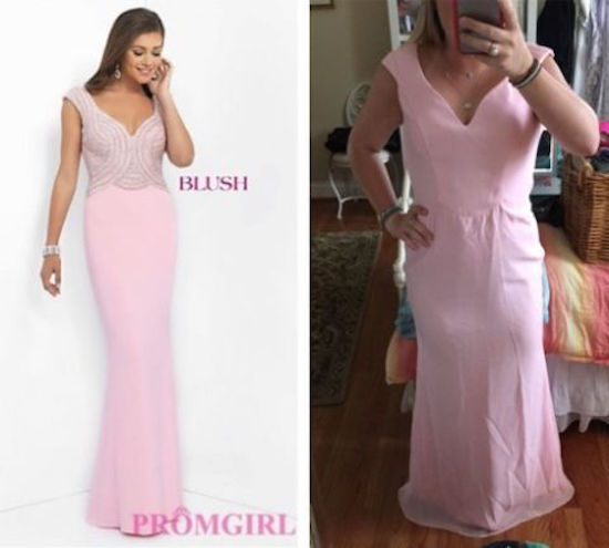 c9e551f43106 Teens learn the hard way not to buy prom dresses online (26 Photos … Prom  Dresses Online tVwjEtIO