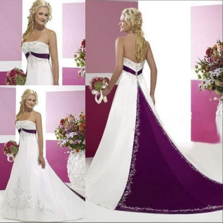 Purple and white wedding dresses nini dress purple and white wedding dresses of6u66wc junglespirit Images