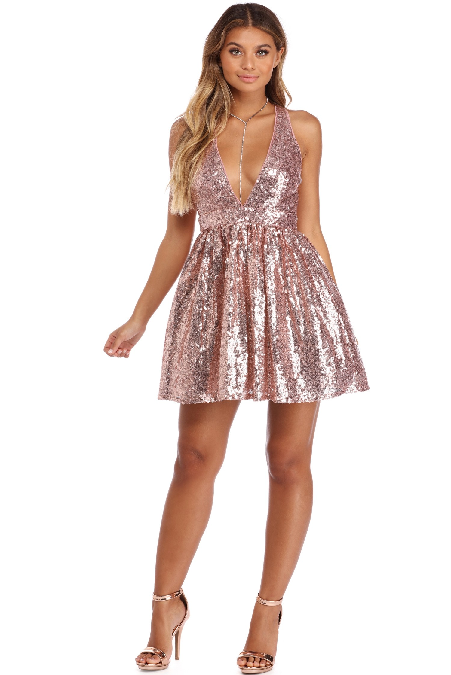 Sequin Party Dresses L9UHcH5d