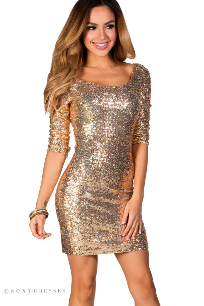 Sequin Party Dresses tfqORc4m