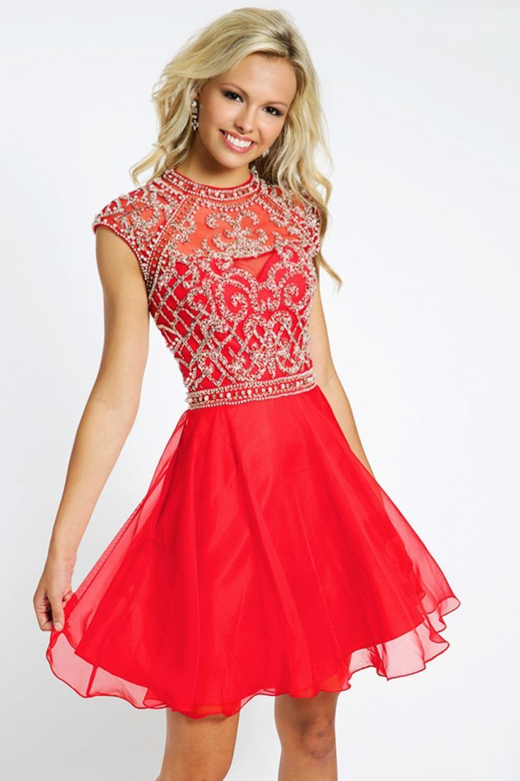 3d3245865 Pictures Of Short Red Prom Dresses - raveitsafe