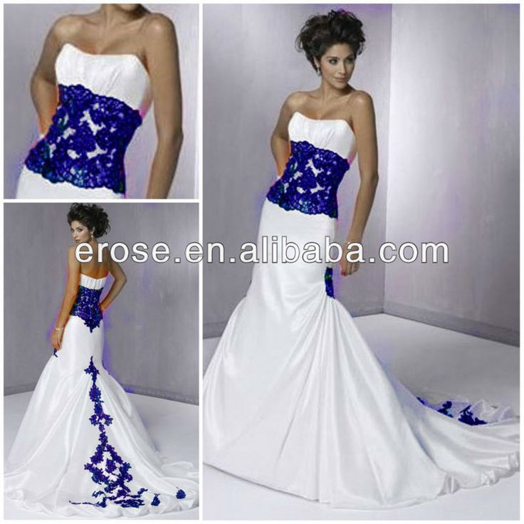 Royal Blue Wedding Dresses - Nini Dress